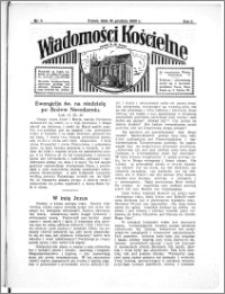 Wiadomości Kościelne : przy kościele N. Marji Panny 1933-1934, R. 5, nr 5