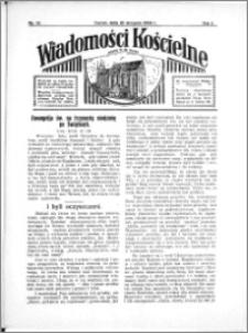 Wiadomości Kościelne : przy kościele N. Marji Panny 1933-1934, R. 5, nr 38