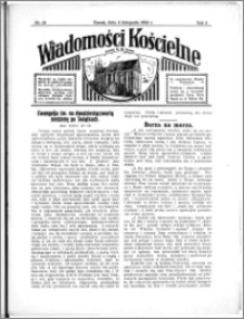 Wiadomości Kościelne : przy kościele N. Marji Panny 1933-1934, R. 5, nr 49