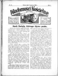 Wiadomości Kościelne : przy kościele N. Marji Panny 1934-1935, R. 6, nr 28