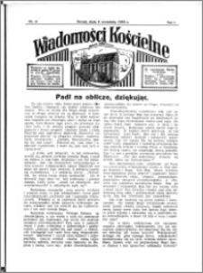 Wiadomości Kościelne : przy kościele N. Marji Panny 1934-1935, R. 6, nr 41