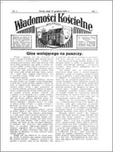 Wiadomości Kościelne : przy kościele N. Marji Panny 1935-1936, R. 7, nr 3