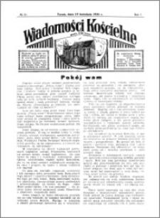 Wiadomości Kościelne : przy kościele N. Marji Panny 1935-1936, R. 7, nr 21
