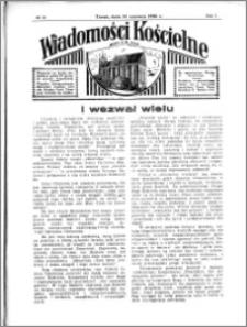 Wiadomości Kościelne : przy kościele N. Marji Panny 1935-1936, R. 7, nr 29