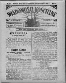 Wiadomości Kościelne : (gazeta kościelna) : dla parafij dekanatu chełmżyńskiego 1930, R. 2, nr 25