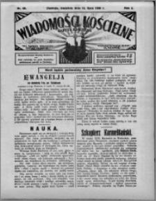 Wiadomości Kościelne : (gazeta kościelna) : dla parafij dekanatu chełmżyńskiego 1930, R. 2, nr 28
