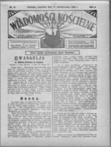 Wiadomości Kościelne : (gazeta kościelna) : dla parafij dekanatu chełmżyńskiego 1930, R. 2, nr 41