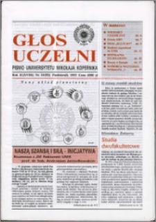 Głos Uczelni : pismo Uniwersytetu Mikołaja Kopernika R. 2=18 nr 10 (1993)