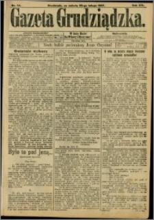 Gazeta Grudziądzka 1907.02.23 R.14 nr 24 + dodatek