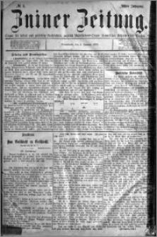 Zniner Zeitung 1895.01.05 R.8 nr 1