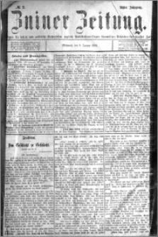 Zniner Zeitung 1895.01.09 R.8 nr 2