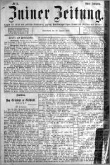 Zniner Zeitung 1895.01.12 R.8 nr 3