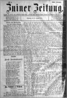 Zniner Zeitung 1895.01.16 R.8 nr 4