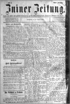 Zniner Zeitung 1895.01.19 R.8 nr 5