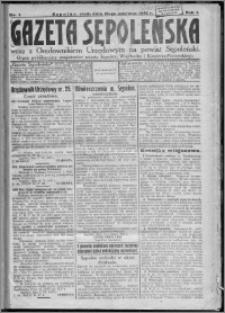 Gazeta Sępoleńska 1927, R. 1, nr 1