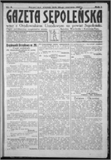Gazeta Sępoleńska 1927, R. 1, nr 6