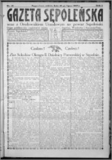 Gazeta Sępoleńska 1927, R. 1, nr 13
