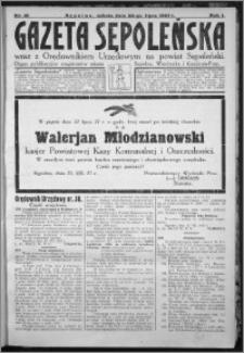 Gazeta Sępoleńska 1927, R. 1, nr 16