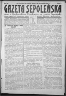 Gazeta Sępoleńska 1927, R. 1, nr 21