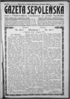 Gazeta Sępoleńska 1927, R. 1, nr 22