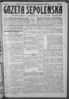 Gazeta Sępoleńska 1927, R. 1, nr 25