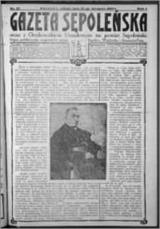 Gazeta Sępoleńska 1927, R. 1, nr 27