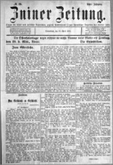 Zniner Zeitung 1895.04.13 R.8 nr 29