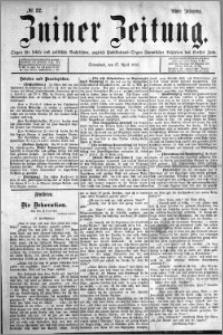 Zniner Zeitung 1895.04.27 R.8 nr 32