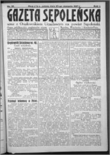 Gazeta Sępoleńska 1927, R. 1, nr 30