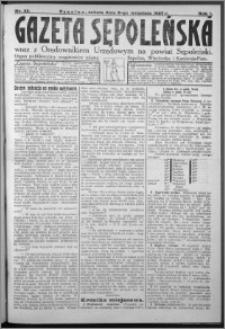 Gazeta Sępoleńska 1927, R. 1, nr 33