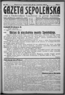 Gazeta Sępoleńska 1927, R. 1, nr 40