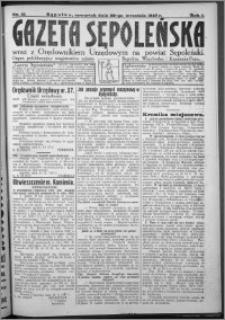 Gazeta Sępoleńska 1927, R. 1, nr 41