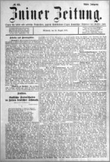 Zniner Zeitung 1895.08.14 R.8 nr 62