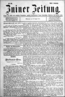 Zniner Zeitung 1895.08.28 R.8 nr 66