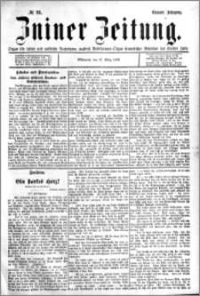 Zniner Zeitung 1896.03.18 R.9 nr 23