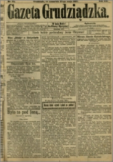 Gazeta Grudziądzka 1907.05.30 R.14 nr 65 + dodatek