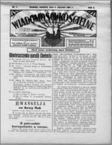 Wiadomości Kościelne : (gazeta kościelna) : dla parafij dekanatu chełmżyńskiego 1931, R. 3, nr 1