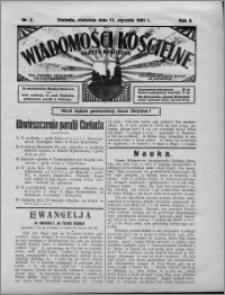 Wiadomości Kościelne : (gazeta kościelna) : dla parafij dekanatu chełmżyńskiego 1931, R. 3, nr 2