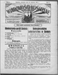 Wiadomości Kościelne : (gazeta kościelna) : dla parafij dekanatu chełmżyńskiego 1931, R. 3, nr 3