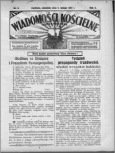 Wiadomości Kościelne : (gazeta kościelna) : dla parafij dekanatu chełmżyńskiego 1931, R. 3, nr 5