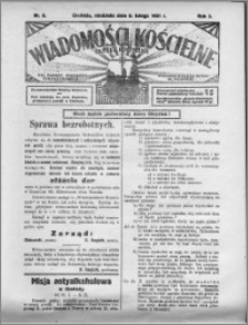 Wiadomości Kościelne : (gazeta kościelna) : dla parafij dekanatu chełmżyńskiego 1931, R. 3, nr 6