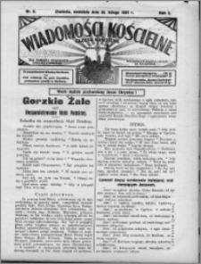 Wiadomości Kościelne : (gazeta kościelna) : dla parafij dekanatu chełmżyńskiego 1931, R. 3, nr 8