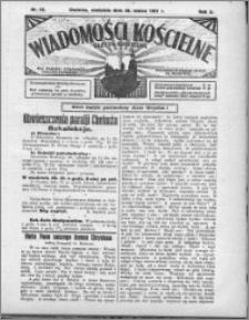 Wiadomości Kościelne : (gazeta kościelna) : dla parafij dekanatu chełmżyńskiego 1931, R. 3, nr 13