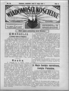 Wiadomości Kościelne : (gazeta kościelna) : dla parafij dekanatu chełmżyńskiego 1931, R. 3, nr 18