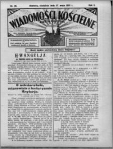 Wiadomości Kościelne : (gazeta kościelna) : dla parafij dekanatu chełmżyńskiego 1931, R. 3, nr 20