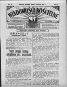 Wiadomości Kościelne : (gazeta kościelna) : dla parafij dekanatu chełmżyńskiego 1931, R. 3, nr 23