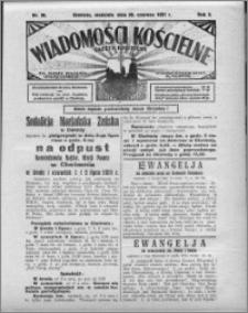 Wiadomości Kościelne : (gazeta kościelna) : dla parafij dekanatu chełmżyńskiego 1931, R. 3, nr 26