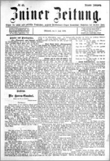 Zniner Zeitung 1896.06.02 R.9 nr 43
