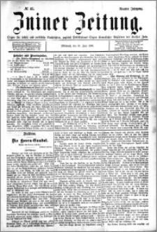 Zniner Zeitung 1896.06.10 R.9 nr 45