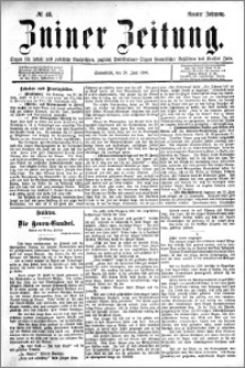 Zniner Zeitung 1896.06.20 R.9 nr 48